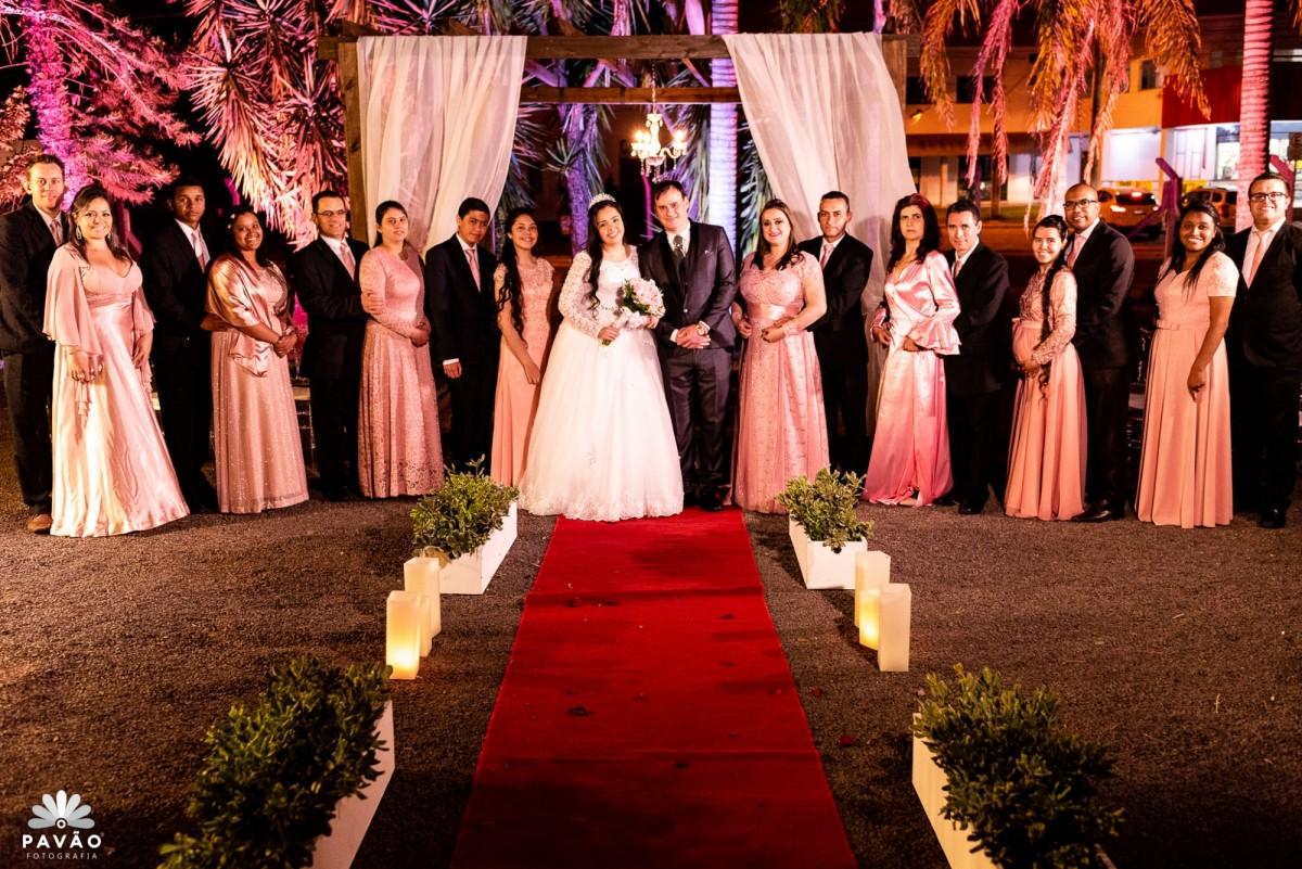 Casamento Joel e Lisandra - Rosa dos Ventos - Gravataí/RS