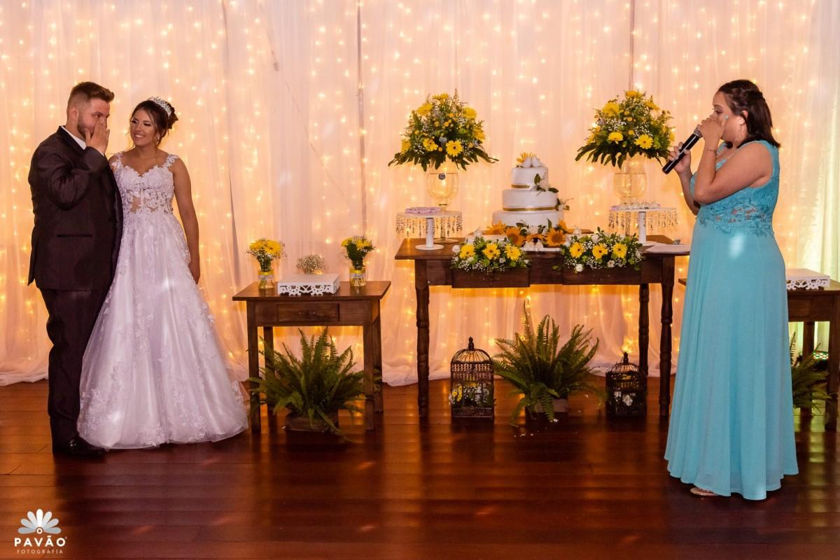 Bianca e Vitor - Casamento AABB - Novo Hamburgo